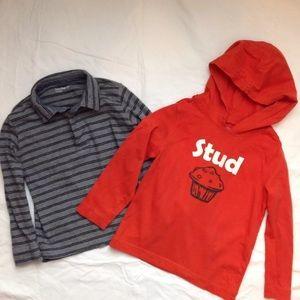 Baby Gap Boys Long Sleeve Shirts STUD MUFFIN 5 5T